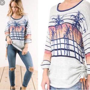 Free People Palm Breeze Summer Sweater